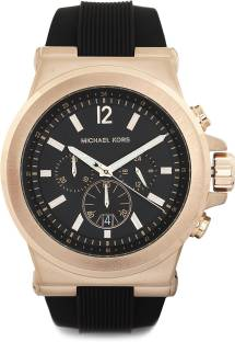 Michael Kors MK8184 Black Dial Chronograph Men's Watch