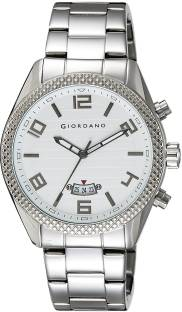 Giordano 1724-22 White Dial Analog Men's Watch (1724-22)