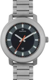 Maxima 35543CMGI Attivo White Dial Analog Men's Watch (35543CMGI)