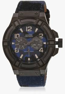 Guess W0407G2 Blue Dial Analog Men's Watch (W0407G2)