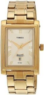 Timex TW000G713 Empera Analog Gold Dial Men's Watch (TW000G713)