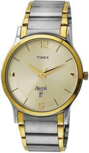 Timex TW000R426 Classics Analog Beige Dial Men's Watch (TW000R426)
