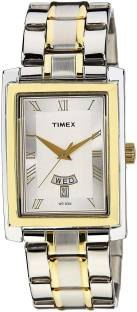 Timex TW000G714 Analog Silver Dial Men's Watch (TW000G714)