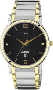 Timex TW000R425 Classics Analog Black Dial Men's Watch (TW000R425)
