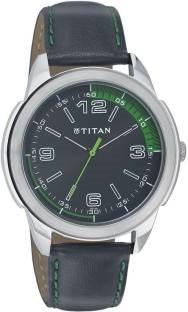 Titan Octane NF1585SL04 Analog Black Dial Men's Watch (NF1585SL04)