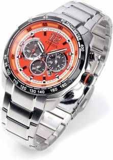 Citizen CA4234-51X Chronograph Orange Dial Men's Watch (CA4234-51X)