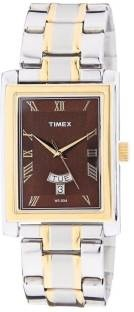 Timex TW000G715 Empera Analog Red Dial Men's Watch (TW000G715)