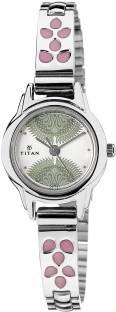 Titan 2401SM03 Analog Silver Dial Women's Watch