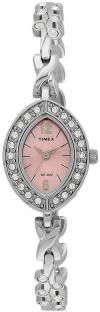 Timex TW000X705 Empera Analog Pink Dial Women's Watch (TW000X705)