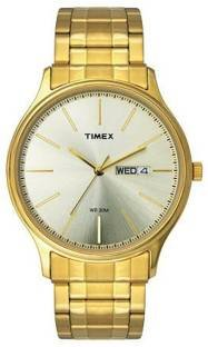 Timex TW0TG5903 Analog Gold Dial Men's Watch (TW0TG5903)