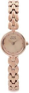 Titan Raga NH2444WM03 Rose Gold Toned Analogue Women's Watch (NH2444WM03)