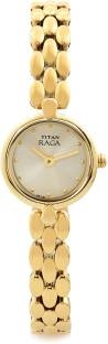 Titan Raga NH2444YM08 Essentials Analog Women's Watch (NH2444YM08)