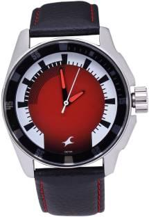 Fastrack 3089SL10 Upgrades Analog Red Dial Men's Watch (3089SL10)