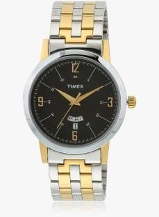 Timex TW000T122 Classics Analog Black Dial Men's Watch (TW000T122)