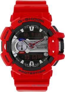 Casio G-Shock GBA-400-4ADR (G559) Analog-Digital Red Dial Men's Watch (GBA-400-4ADR (G559))