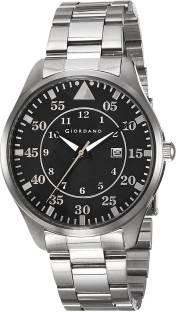 Giordano 1771-44 Black Dial Analog Men's Watch (1771-44)