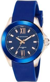 Giordano A1036-03 Blue Dial Analog Men's Watch (A1036-03)