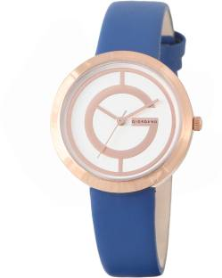 Giordano A2042-07 Silver- Toned Dial Analog Women's Watch (A2042-07)
