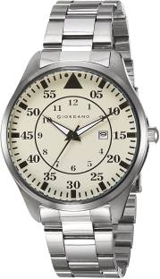 Giordano 1771-44 Off- White Dial Analog Men's Watch (1771-44)