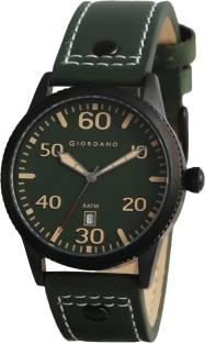 Giordano A1041-03 Green Dial Analog Men's Watch (A1041-03)