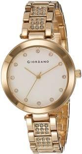 Giordano A2037-22 White Dial Analog Women's Watch (A2037-22)