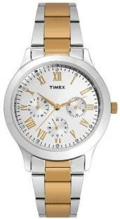Timex TW000Q808 Analog Silver Dial Women's Watch (TW000Q808)