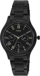 Timex TW000Q809 Chronograph Black Dial Women's Watch (TW000Q809)