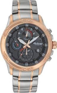Titan 90047KM03J Black Analogue Men's Watch (90047KM03J)