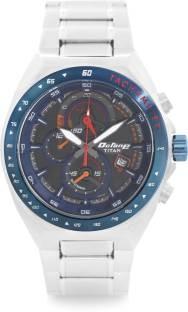 Titan 90048KM02J Chronograph Black Dial Men's Watch (90048KM02J)