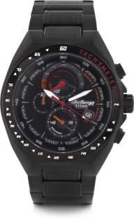 Titan Octane 90048NM01J Black Chronograph Dial Men's Watch (90048NM01J)