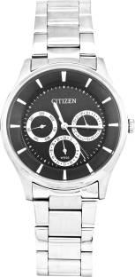 Citizen AG8351-51E Black Dial Analog Watch For Unisex (AG8351-51E)
