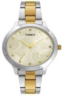 Timex TW000T608 Fashion Analog Gold Dial Women's Watch (TW000T608)