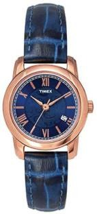 Timex TWEL11504 Classics Blue Dial Color Men's Watch (TWEL11504)