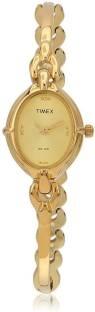 Timex LK02 Classics Analog Gold Dial Women's Watch (LK02)