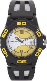 Sonata NH7929PP07J Analog Multi Color Dial Men's Watch (NH7929PP07J)