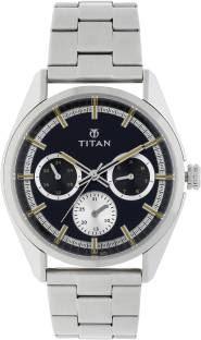 Titan 90084SM01J Analog Black Dial Men's Watch (90084SM01J)