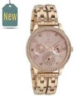 Titan Purple 95040WM01J Analog Women's Watch (95040WM01J)