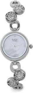 Titan NH311SM06 Analog Mother Of Pearl Dial Women's Watch (NH311SM06)