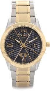 Titan 1690BM02 Analog Black Dial Men's Watch (1690BM02)