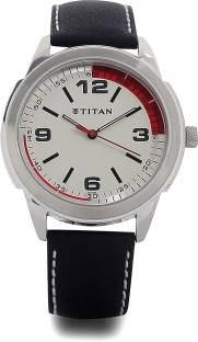 Titan Octane NF1585SL01C Analog White Dial Men's Watch (NF1585SL01C)