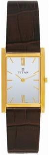 Titan Edge NH1043YL03 Analogue Quartz Stainless Steel White Dial Men's Watch (NH1043YL03)
