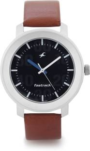Fastrack 3121SL01 Casual Analog Black Dial Men's Watch (3121SL01)