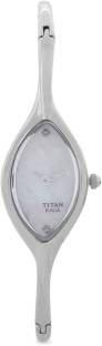 Titan Raga NH9701SM01E Analog White Dial Women's Watch (NH9701SM01E)