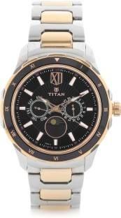 Titan NH1688KM03 Analog Black Dial Men's Watch (NH1688KM03)