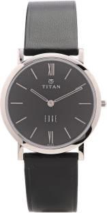 Titan Edge NH679SL02 Analog Black Dial Men's Watch (NH679SL02)