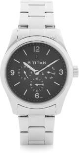 Titan 9493SM02J Formal Steel Analog Men's Watch (9493SM02J)