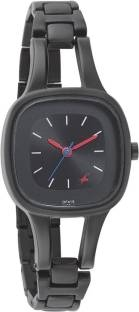 Fastrack 6147NM02 Analog Black Dial Women's Watch (6147NM02)