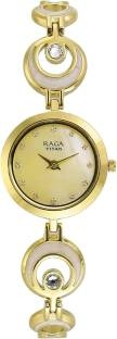 Titan NH2540YM03 Analog Mother Of Pearl Dial Women's Watch (NH2540YM03)