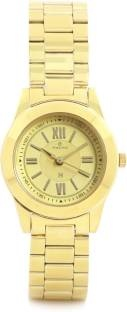Maxima 34701CMLY Analog Gold Dial Women's Watch (34701CMLY)