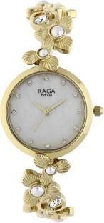 Titan Raga 95048YM01J Aurora Analog Women's Watch (95048YM01J)